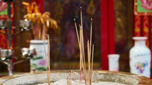 Buddhistischer Tempel in Zhe jiang wurde zerstört
