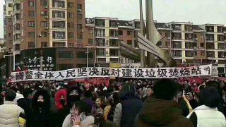3000 Beamte schlagen Proteste gegen Müllverbrennungsanlage nieder