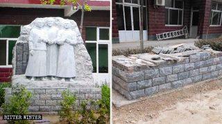 Statuen von katholischen Märtyrer-Heiligen von Behörden in Hebei entfernt
