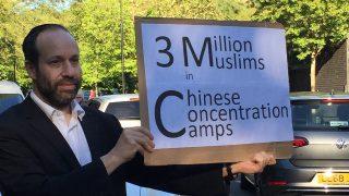 Die Geschichte des Einsamen Juden: Londoner bezieht Stellung für die Uiguren