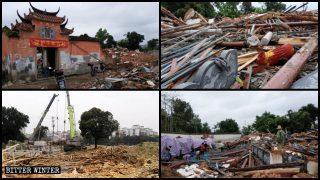 """Lokale Beamte schwören, Tempel auszulöschen: """"Wenn Xi Jinping sagt, wir sollen sie zerstören, dann tun wir es!"""""""