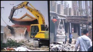 Die Auslöschung des buddhistischen Erbes geht weiter: Zwei alte Tempel in Nordchina zerstört