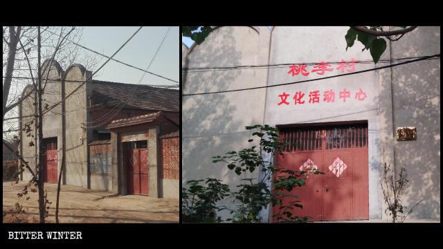 Die True Jesus-Kirche wurde in ein Kultur- und Freizeitzentrum umfunktioniert