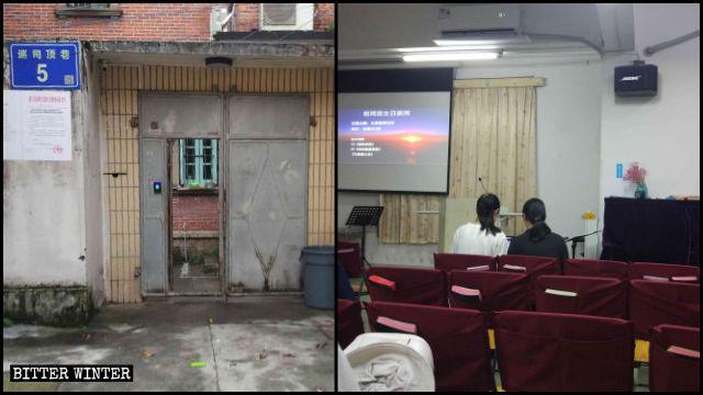 Der Treffpunkt der Xunsiding-Kirche