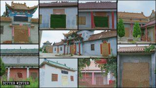 Wie die KPCh Versammlungsstätten des Buddhismus und des Volksglaubens eliminiert