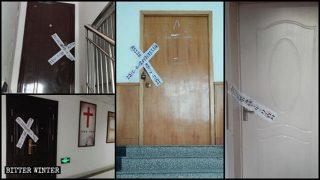 Shandong: Zehn Versammlungsstätten der Sola Fide-Kirche in der Stadt Zibo geschlossen