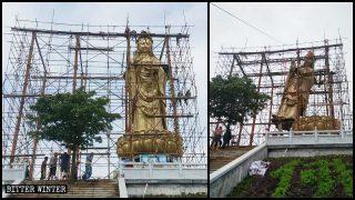 Alle buddhistischen Statuen im Freien müssen verschwinden – koste es was es wolle