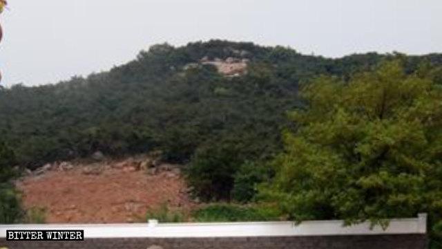 Tausend Hand Guanyin wurde abgerissen