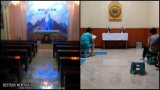 Katholiken zunehmend schikaniert, damit sie der staatlich geleiteten Kirche beitreten