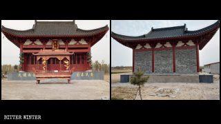"""Buddhistischer Tempel unterdrückt, obwohl er """"politisch angemessen"""" ist"""