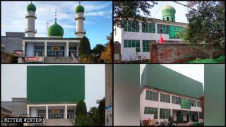KPCh schafft ethnische Einheit durch Entfernung islamischer Symbole