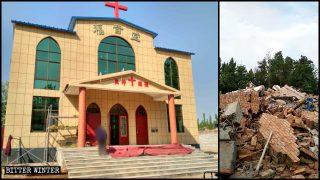 Regierung überlistet Gläubige, um deren Kirchen zu zerstören