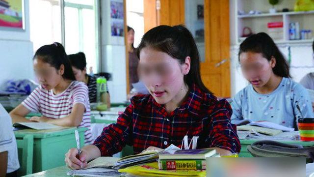 Schüler aus Xinjiang in Lianyungang